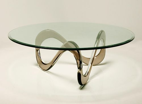 Infinity Acrylic Coffee Table Materials Grecian Color Infused