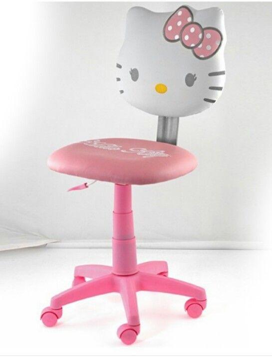 hello kitty desk chair ikea nils covers uk sillas infantiles de oferta en eco design club office