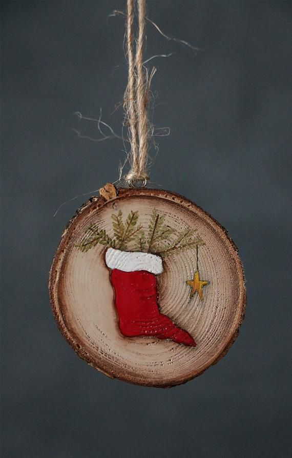 Personalized Ornament, Christmas Stocking Ornament