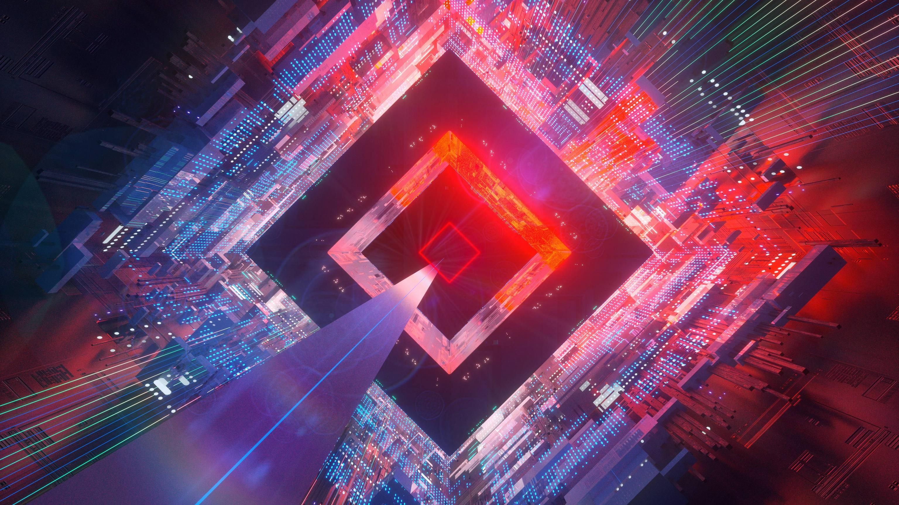 3d Abstract 4k Wallpaper 3840 X 2160 In 2020 Digital Art
