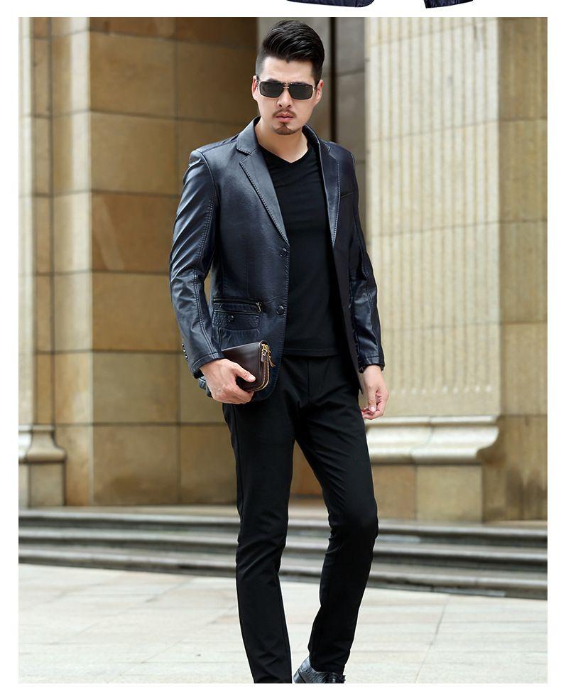 >> Click to Buy << men jacket  spring jacket men High imitation sheepskin spring and autumn men PU leather jacket #Affiliate