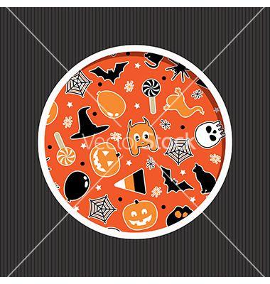 Halloween decoration vector by mattasbestos on VectorStock®