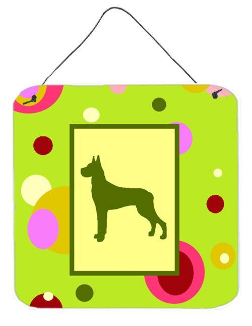 Great Dane Aluminium Metal Wall or Door Hanging Prints