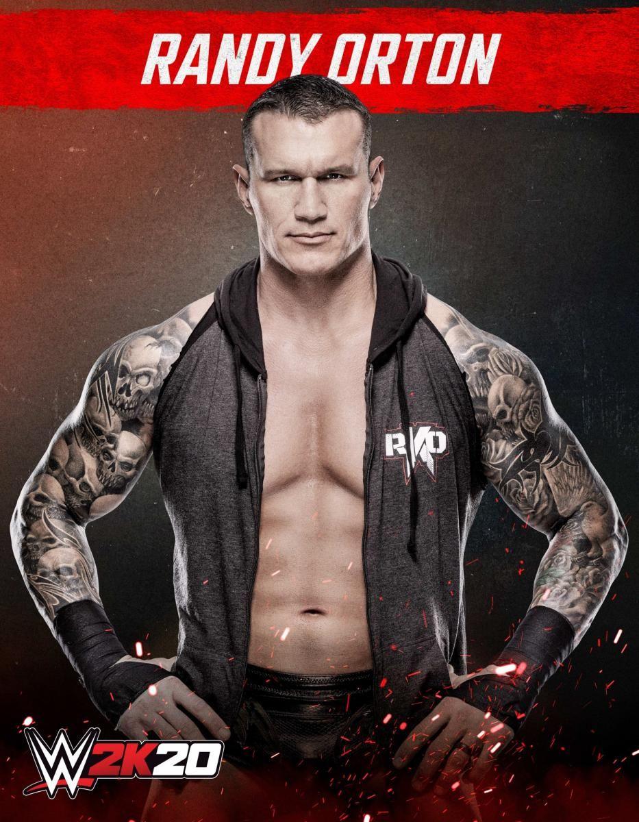 Photos See Every Superstar In Wwe 2k20 Wwe Randy Orton Superstar