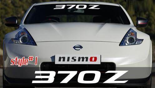 Nissan Z Windshield Banner Decal Sticker Artfire Windshield - Custom stickers for cars windshield