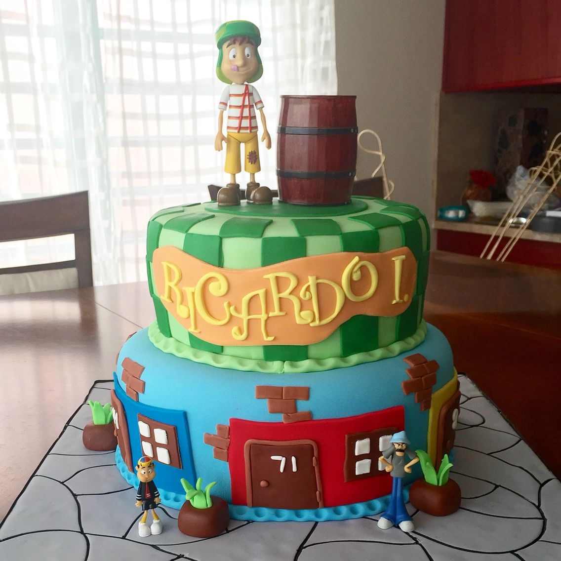 El Chavo Del Ocho Cake With Images 8th Birthday Cake Party