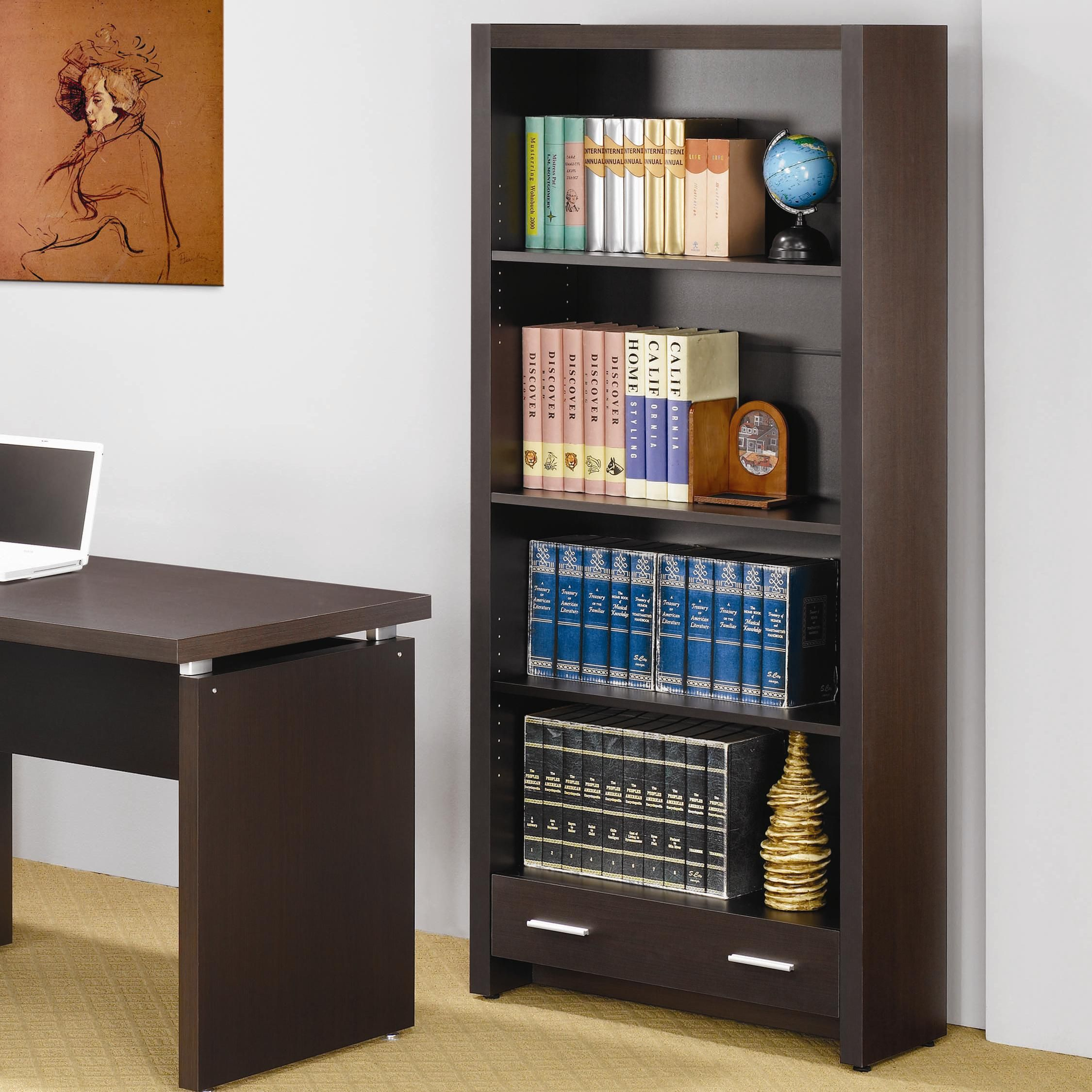 Papineau Bookcase by Coaster