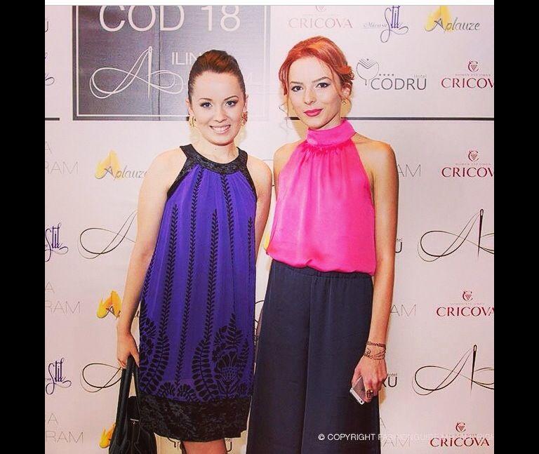 At fashion event cod 18