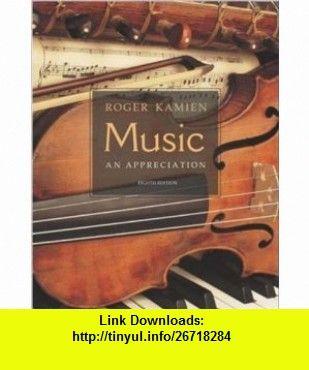 Music an appreciation w multimedia companion 45 cd rom music an appreciation w multimedia companion 45 cd rom 9780072885057 roger kamien isbn 10 007288505x isbn 13 978 0072885057 tutorials pdf fandeluxe Choice Image