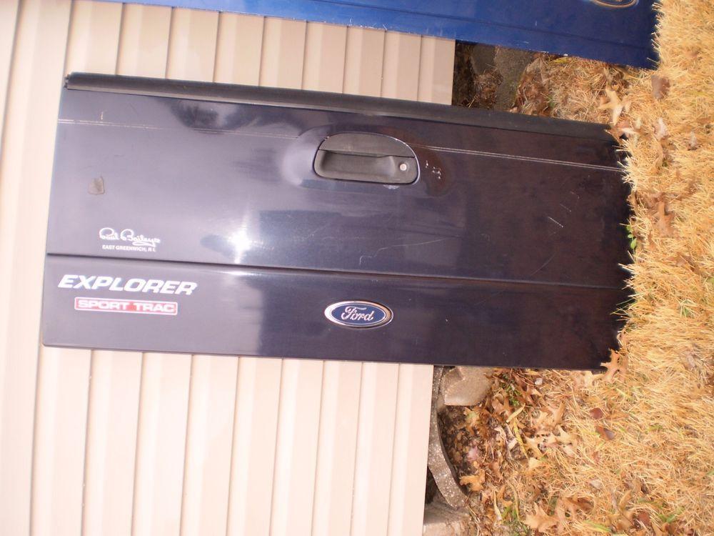 RARE OEM 0105 Ford Explorer SPORT TRAC Tail gate Tailgate