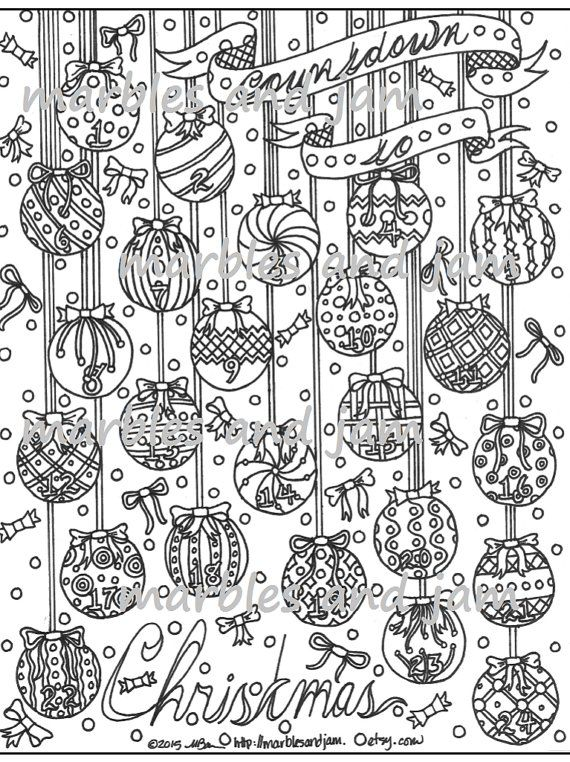 advent coloring pages for adults - photo#17
