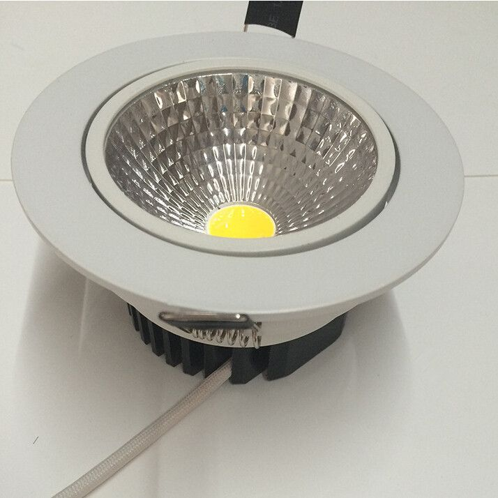 cool indoor lighting. Super Bright Dimmable 9W Led Down Light COB Ceiling Spot Recessed Downlights Warm Cool White Indoor Lighting #Affiliate