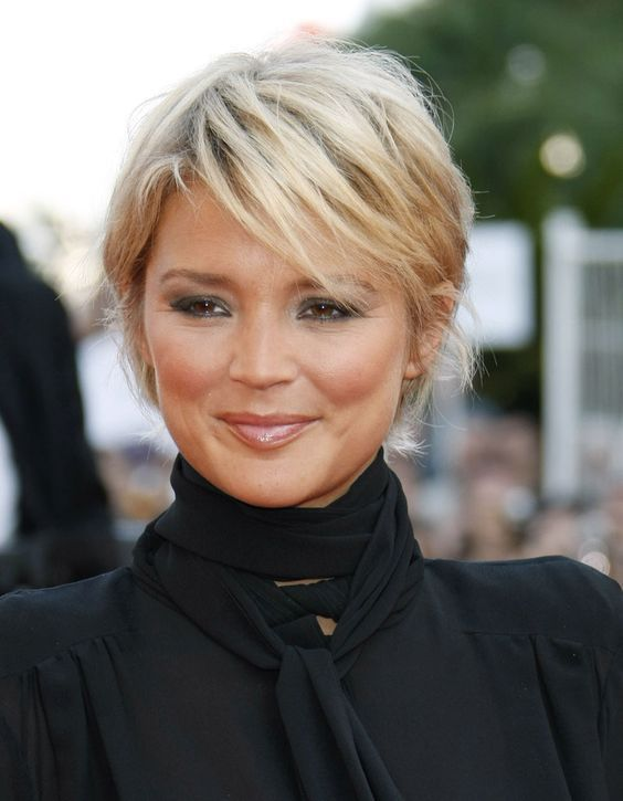 Short Hairstyles For Fine Hair Over 50 Round Face Thin Fine Hair
