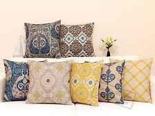 Top Quality Art Deco Cotton Linen Cushion Cover Home Decor Throw Pillow Case 191