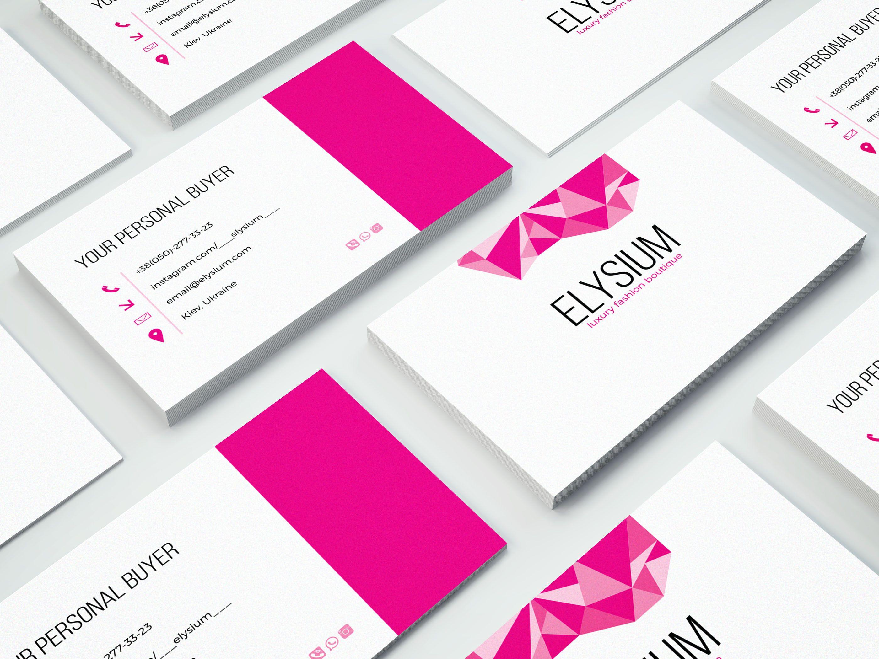business card design for a fashion boutique #fashion#design#business ...