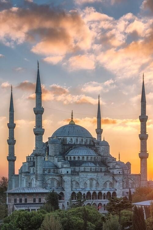 A mosque in Istanbul, Turkey