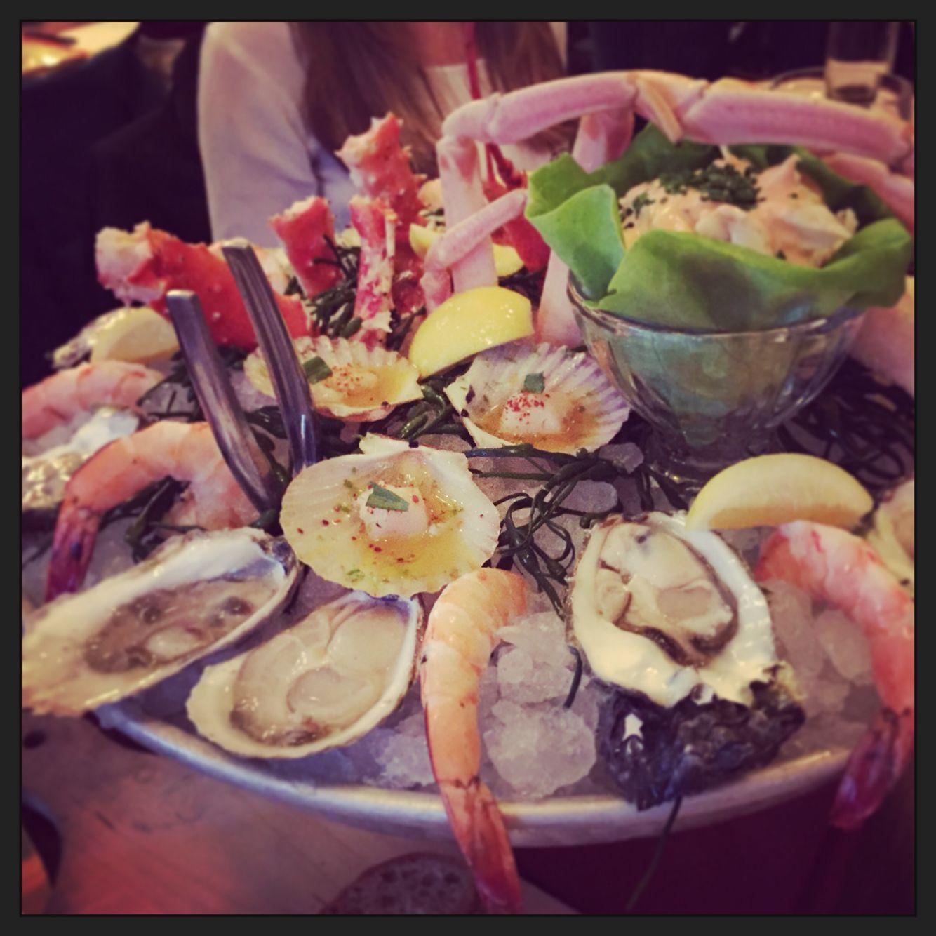 Seafood platter- Le Diplomat, Washington, D.C.
