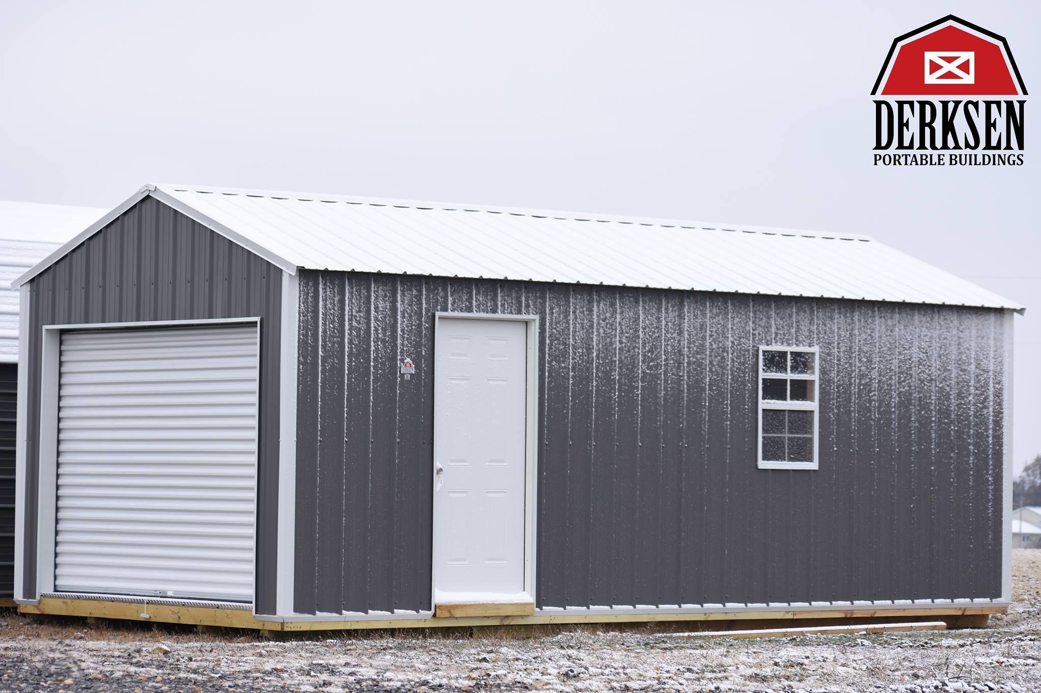 Pin By Derksen Portable Buildings On Derksen Buildings Portable Buildings Outdoor Sheds Backyard Storage