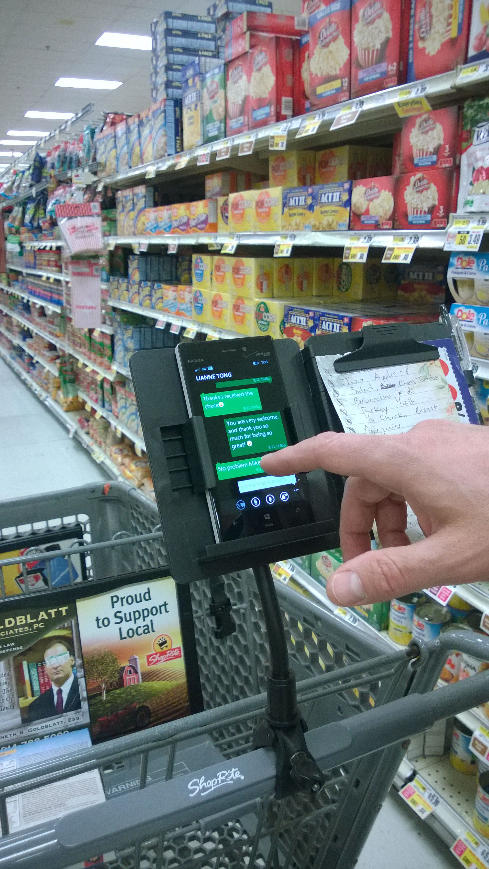 Skip the lines and save time while you shop easier, safer