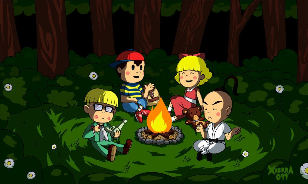 Earthbound Wallpaper By Xierra099 On Deviantart Mother Games Wallpaper Deviantart