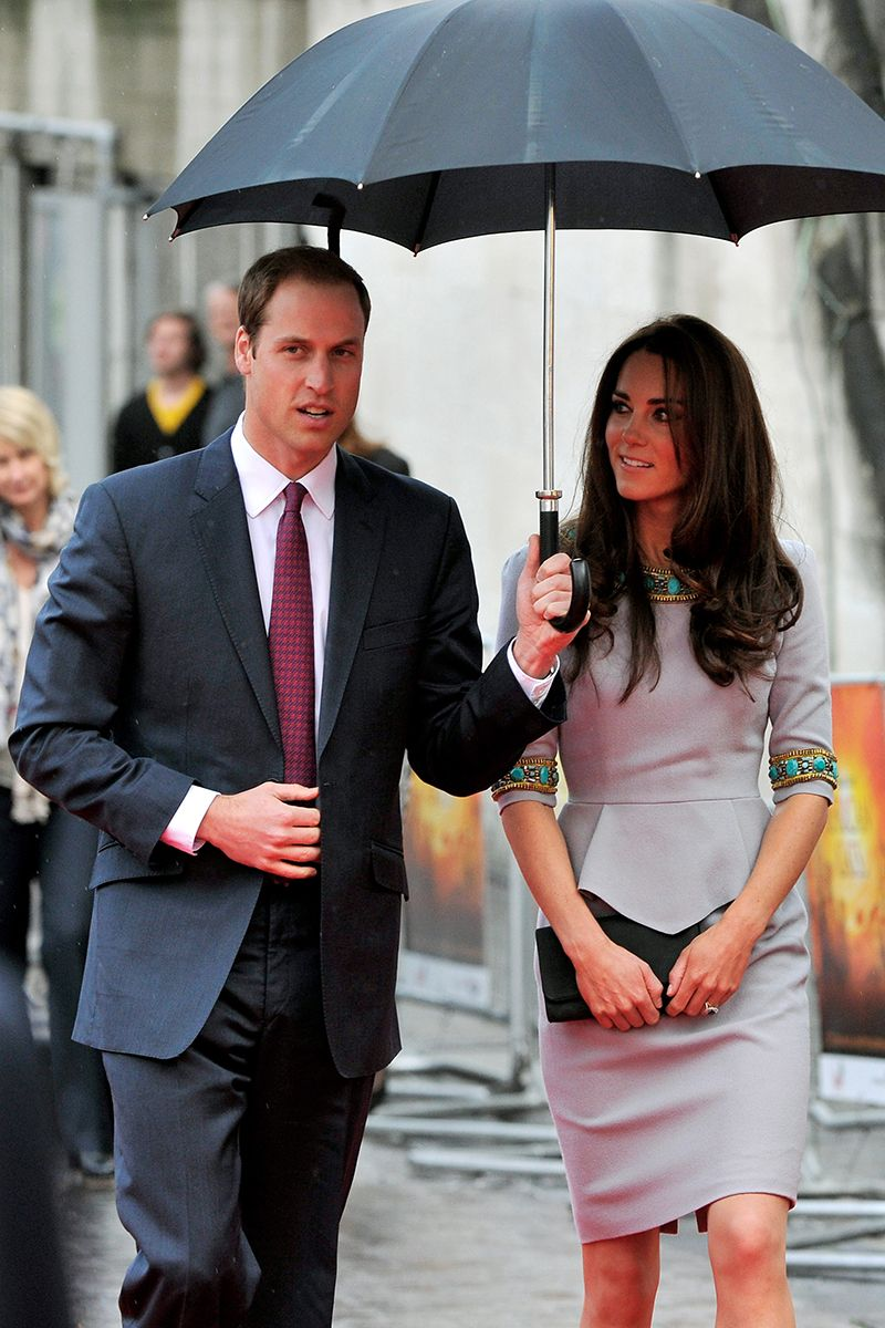 """You honestly have to be holding the umbrella that far away from me on purpose. Do you see how big my hair is getting?""   - ELLE.com"