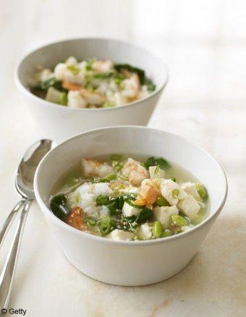 Soupe miso & crustacés Ariake - À customiser : les soupes toutes faites