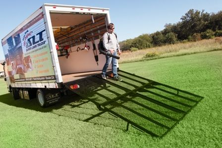 Superboxtruckramps Com 2 Mr 750 Ramps Side By Side These Ramps Have A 1500 Lb Weight Rating For Loading And Uploading Hea Truck Ramps Equipment Trailers Ramp