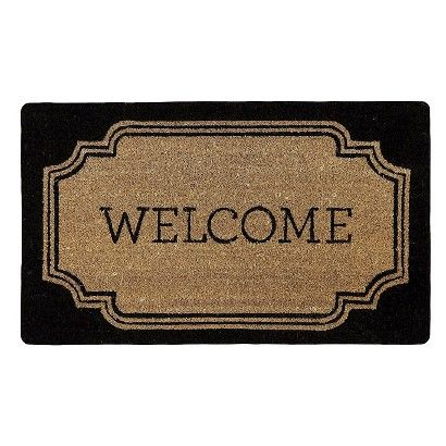 Door Mat 18X30 Thrshd Black