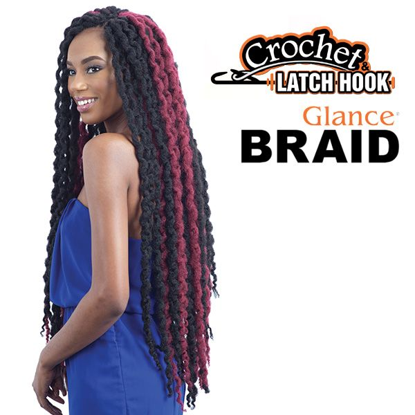 GLANCE SYNTHETIC BRAID LONG SINGLE TWIST OUT 30