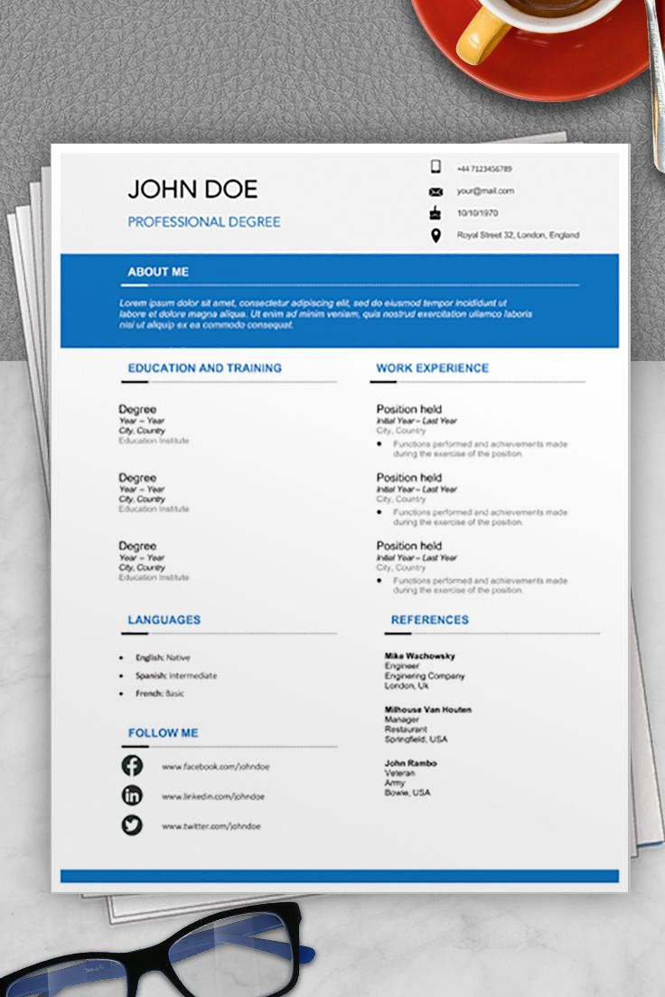 Resume format australia formato de curriculum vitae
