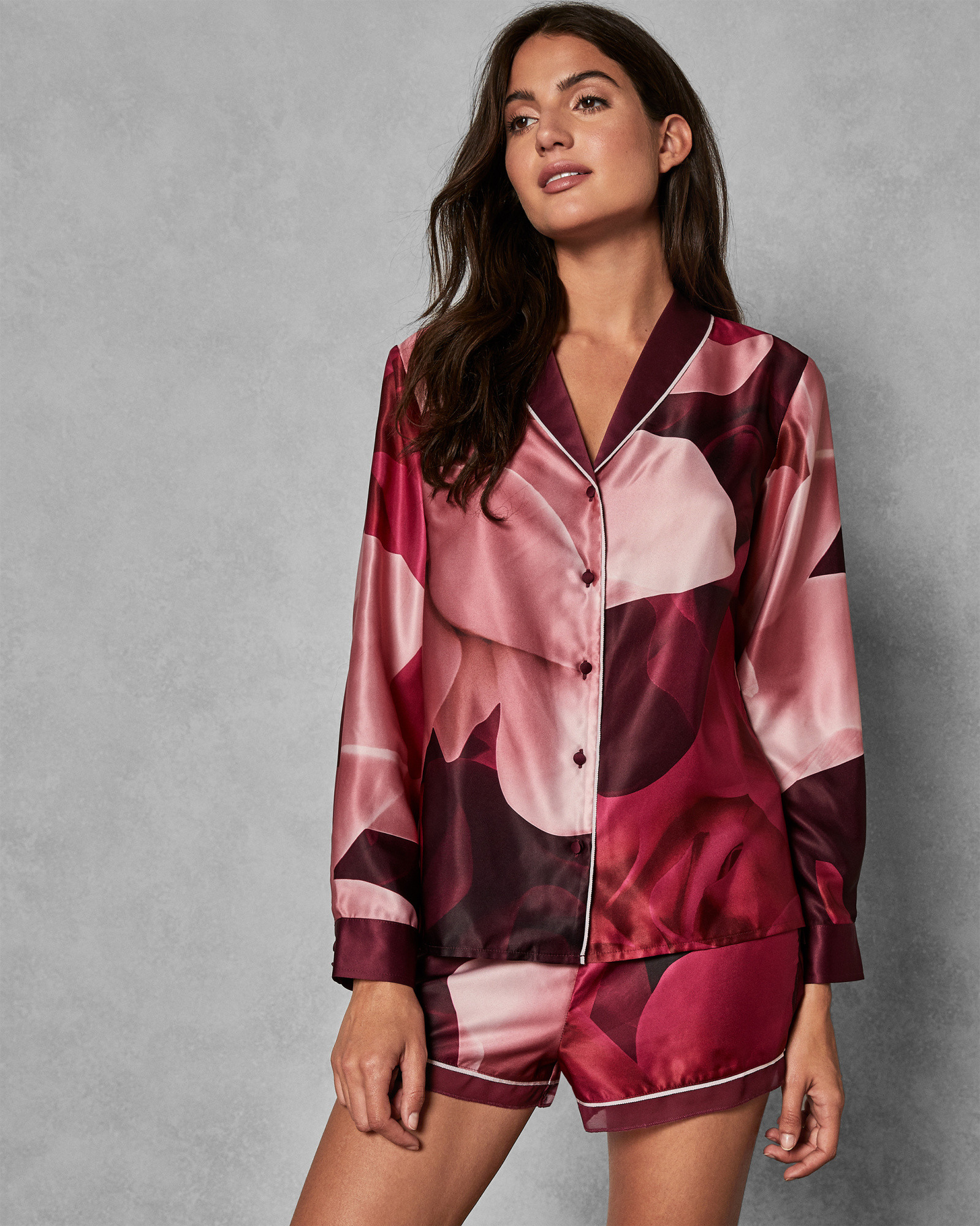 226dce56e2b5 Porcelain Rose Pyjama Shirt | Products in 2019 | Pajama shirt, Ted ...