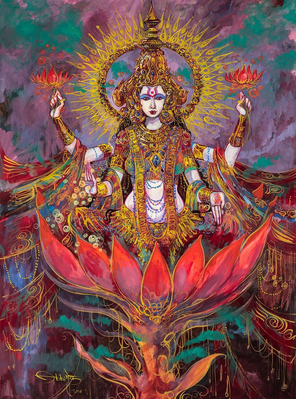 Paramchaintanya Men — lakshmi-gouache- abishek Sngh