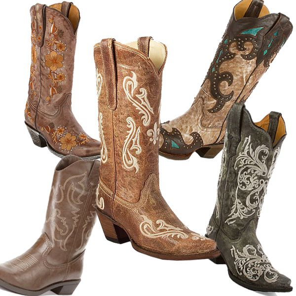 Cute Cowboy Boots - Cr Boot
