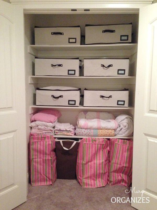 Quick Fix Closet Organizing For Blanket Amp Pillow Storage