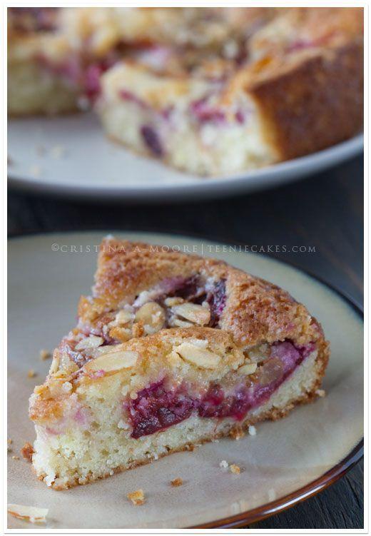 Rustic Italian: Plum-Almond Cake – Torta Di Prugne E Mandorle ·