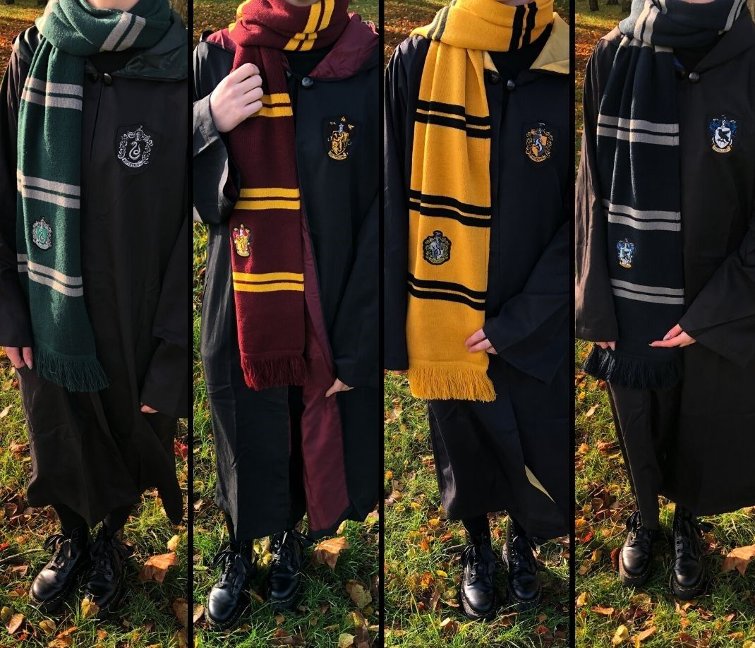 Harry Potter Häuser Capes Harry Potter Häuser Gryffindor Harry Potter