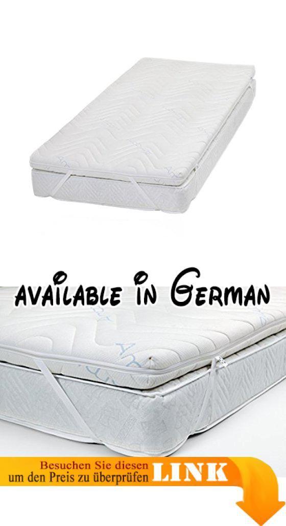 Verbessert Die Liegeeigenschaften Der Vorhandenen Matratze. Premium  High Resilent Kaltschaum In RG 40. Öko Tex Standard 100 Zertifiziert Textil  Des ...