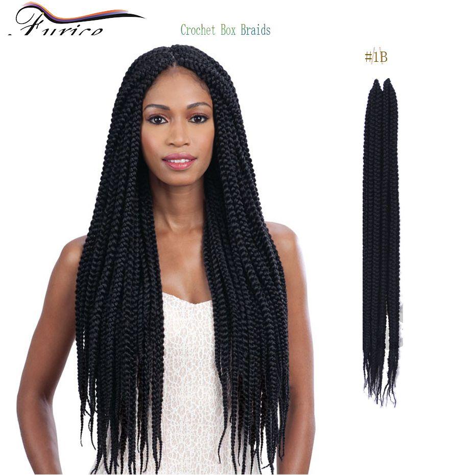 Best selling box twist braids senegalese twist hair extension box