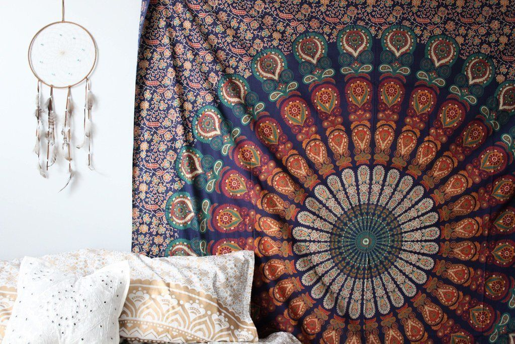 Large Buddhist Mandala Tapestry Hippie Hippy Wall Hanging Beach Throw Bohemian Tapestries Beach Sheet Mandala tapestries wall Art Tapestries -- You can find out more details at the link of the image. (This is an affiliate link and I receive a commission for the sales)