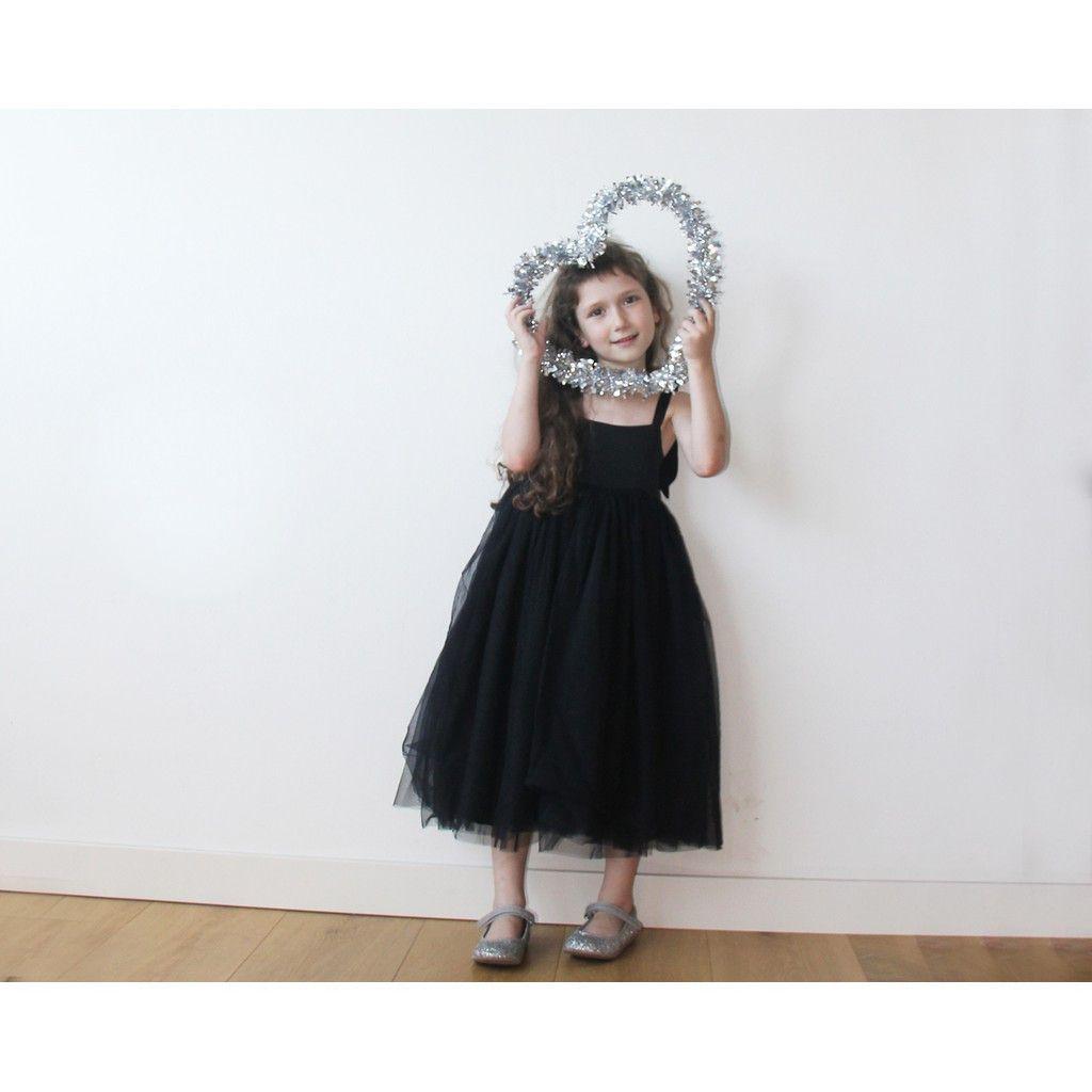 Black flower girl tulle dress tulle dress tulle and dresses