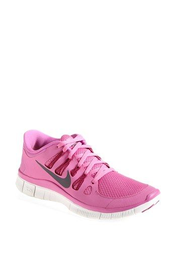 BLACK Nike 'Free 5.0' Running Shoe (Women) available at #Nordstrom