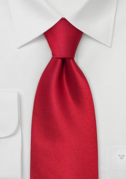 930f28a26dda Silk Necktie in Solid Red | Bows-N-Ties.com in 2019 | Bows 'N Ties ...