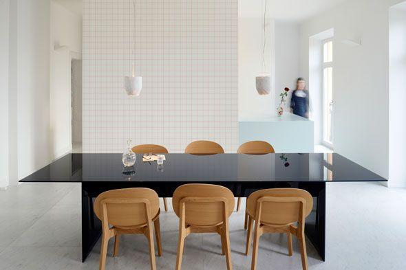 Checkered Blur wallpaper by Claesson Koivisto Rune