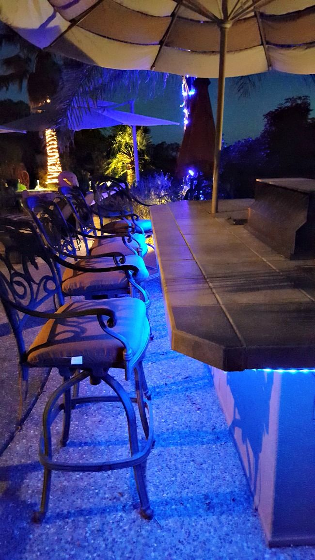 Fun With Led Strip Lights In 2019 Outdoor Ideas Best Outdoor
