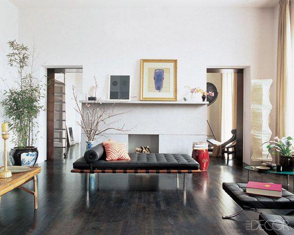barcelona daybed living room by Carlos Souza via Elle Decor shop ...