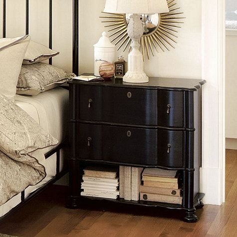 Best Small Serpentine Chest A Perfect Bedside Table To Store 640 x 480