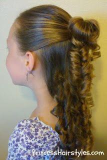 no heat ringlet curls princesshairstyles.com