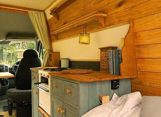 rustic campers campervan van plans pinterest. Black Bedroom Furniture Sets. Home Design Ideas
