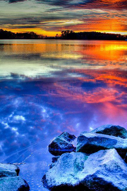 blackwater refuge sunset by M Zappano on Flickr. Seward, Maryland