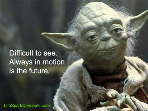 Difficult To See Always In Motion Is The Future Yoda Yoda